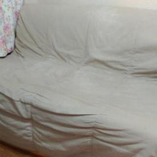 【IKEAソファーベッド】汚れ有、使用感有