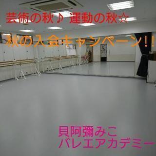 四条畷駅近☆初心者の方も大歓迎!!バレエの美しさを体験しませんか?