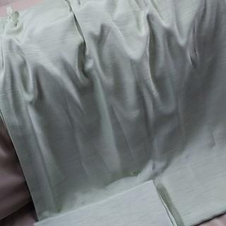 [遮光カーテン105×180グリーン]⁑リサイクルショップヘルプ