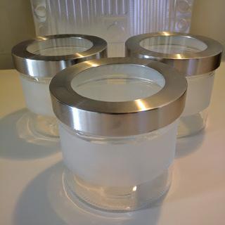 イケア ふた付き容器 3個セット