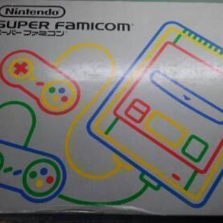 スーパーファミコン本体 ソフト4本