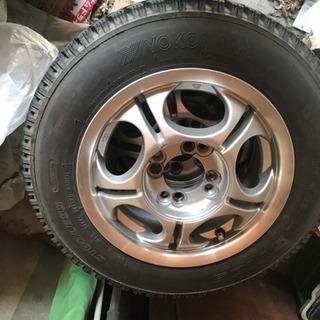 軽用スタッドレスタイヤ145R13 6PR4本