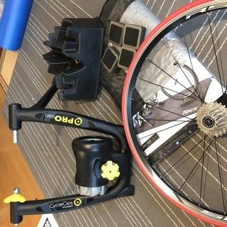 【交渉中】ロードバイク 固定ローラー セット ( ローラー台 トレーナー