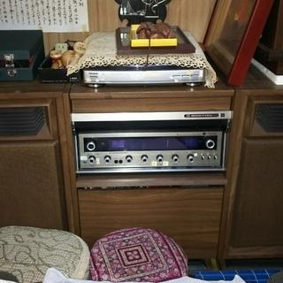東芝 BOSTON SP-808 古いステレオ差し上げます