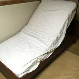 フランスベッド 電動 マット付き