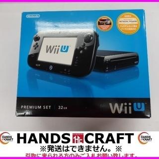 ニンテンドー WiiU プレミアムセット 箱取説あり 黒 WUP-...