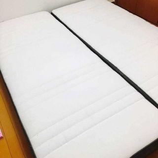 IKEA イケア HOVAG シングル ベッド マットレス ペア ...