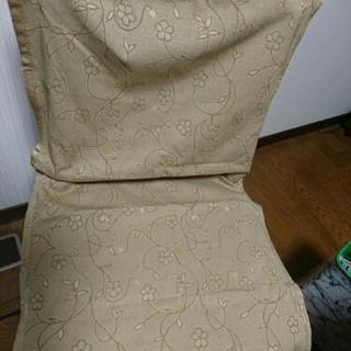 シックな椅子カバー四枚組フリーサイズ
