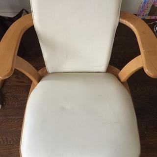 交涉中相談中椅子