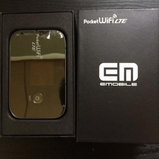 ポケットwi-fi(Eモバイル 中古)3G LTE