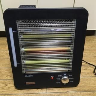 スチーム機能付 電気ストーブ 900W 赤外線ヒーター