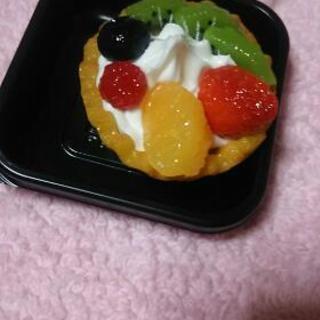 食品サンプル タルト