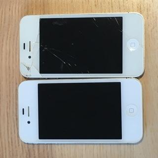 iPhone4s 16G 2台セット ジャンク品