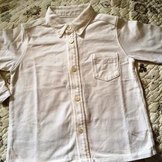 コムサデモードの綿シャツ(90サイズ)