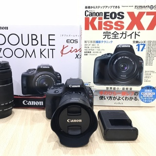Canon  EOS Kiss X7 ダブルズームキット