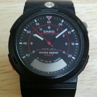 【交渉中】ジャンク品!腕時計(2)CASIO THERMO METER