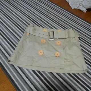 巻きスカート、ミニスカート