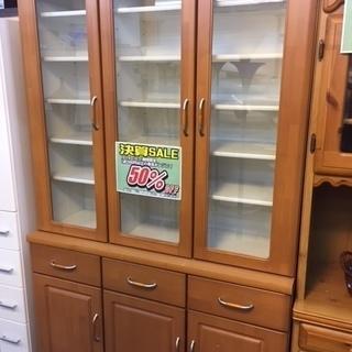 〔高く買取るゾウ八幡東店 直接取引〕食器棚