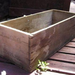激レア 古い ダイナマイト大箱 木箱