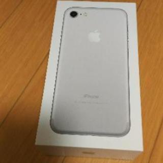 iPhone7 箱のみ 新品