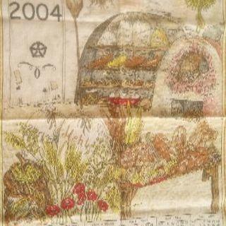 ヨーロッパで手に入れたキッチンクロス (3)