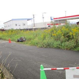 福岡便利屋会社所有の空き地の草刈り