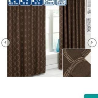 遮熱カーテン、節電にも◎ 幅100*丈110×2枚 防音