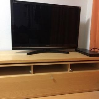 IKEA 天然木TV台