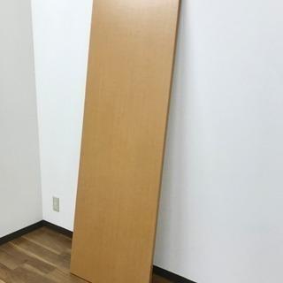 上質な板‼︎ DIYなどに‼︎ 硬く重い木材 ドア机扉 コーティング済