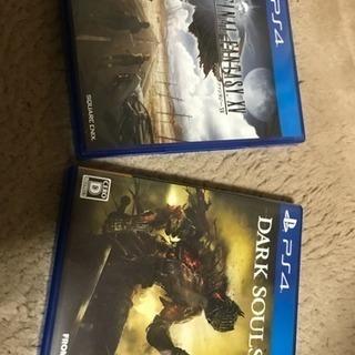 PS4ソフト FF15・ダークソウル3 セット