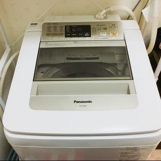 【美品】Panasonic 全自動洗濯機 8kg NA-FA80H1