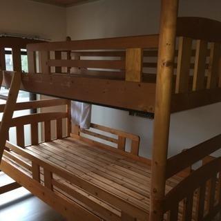 3段ベッド(2段ベッド+収納型ベッド)