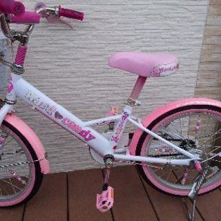 18インチ女の子用自転車 知多市