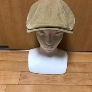 【帽子700キン❗️④スウェード風❗️】秋冬スウェード風ベージュハ...