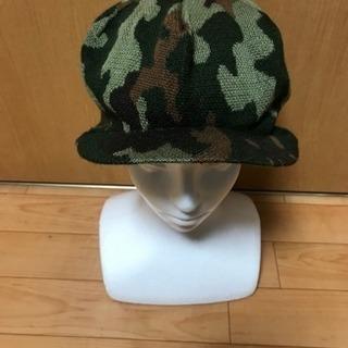 【千円帽子❗️④迷彩柄❗️】迷彩柄、ニットキャスケット❗️