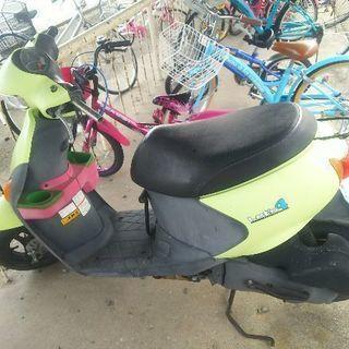 4サイクルの原付バイク