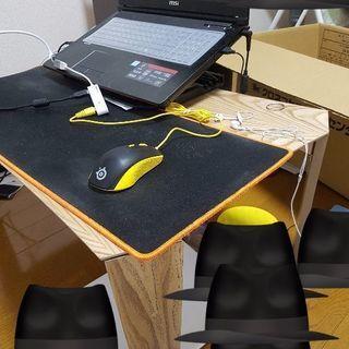 座卓/ローテーブルです。折り畳み