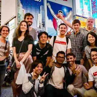 外国人旅行者と街歩き「国内留学」が出来る1day tourです。