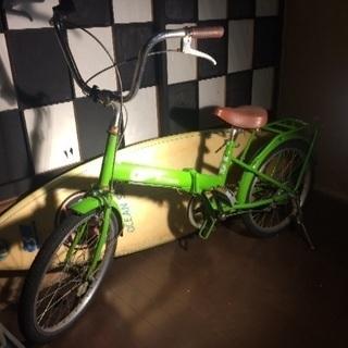 折りたたみ自転車【TR FUSION】