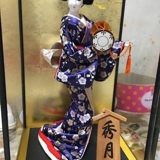 日本人形 あげます!