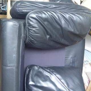 二人掛けソファ引き取りました