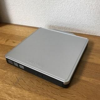 バッファローのポータブルDVDドライブ