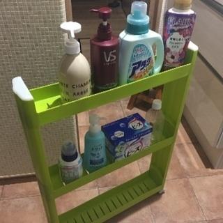 洗面台用品収納  組立式