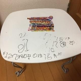 【商談中】ミニテーブル 新品鉛筆差し上げます!