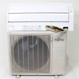 ⑤【長期保証加入】富士通 エアコン AS-R22C-W ~9畳 2...