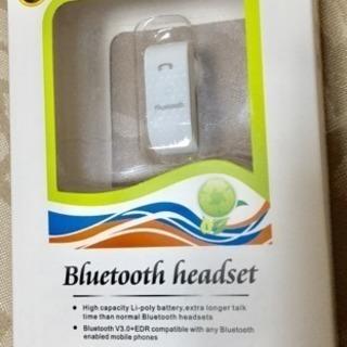 bluetooth  headset  携帯電話を購入時に貰った...