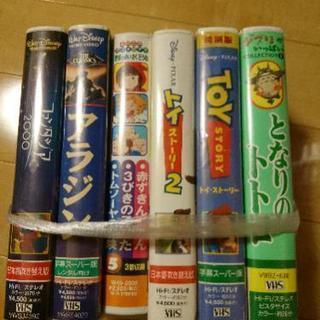 ジブリ ディズニー VHS