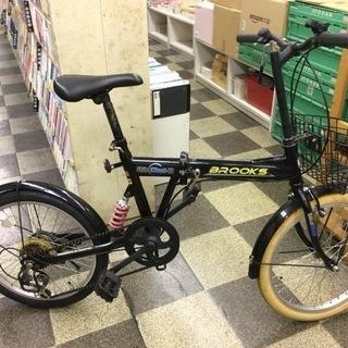[4030]折りたたみ自転車 20インチ 外装6段変速 ブラック