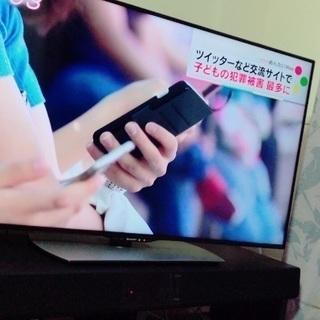 テレビAQUOS50インチ