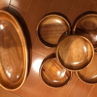 木のお皿 6つセット